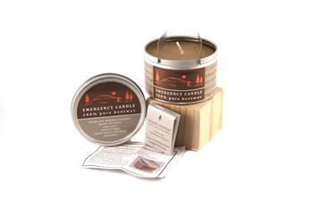 beeswax emergency candles