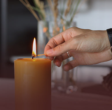 All about choosing and caring for your beeswax candles.