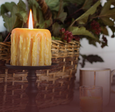 Explore tidbits about lifestyle & beeswax candles.