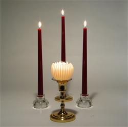 beeswax candles elegant