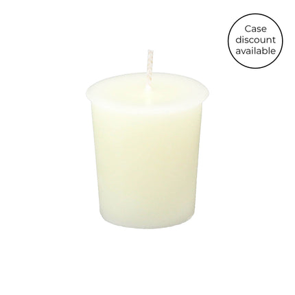 2 Inch Pearl Votive Beeswax Candles