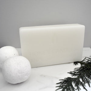 White beeswax block made from 100% pure beeswax