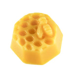 Charming honey bee pattern on a 100%  beeswax medallion
