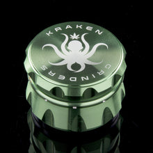 "Load image into Gallery viewer, Kraken Grinders - 2.5"" 4-Piece or 2.2"" 4-piece  Diamond Ridge Grinder"