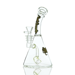 "Sesh Supply ""Hecate"" Beaker Base with Cube Perc"