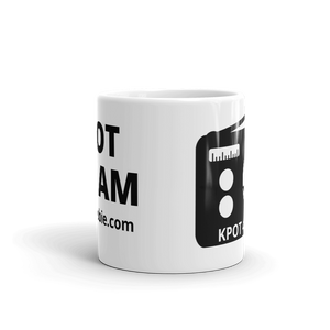 KPOT 420 AM coffee mug - Official Super Doobie merchandise