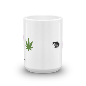 Eye Smoke Weed Coffee Mug - Official Super Doobie Merchandise