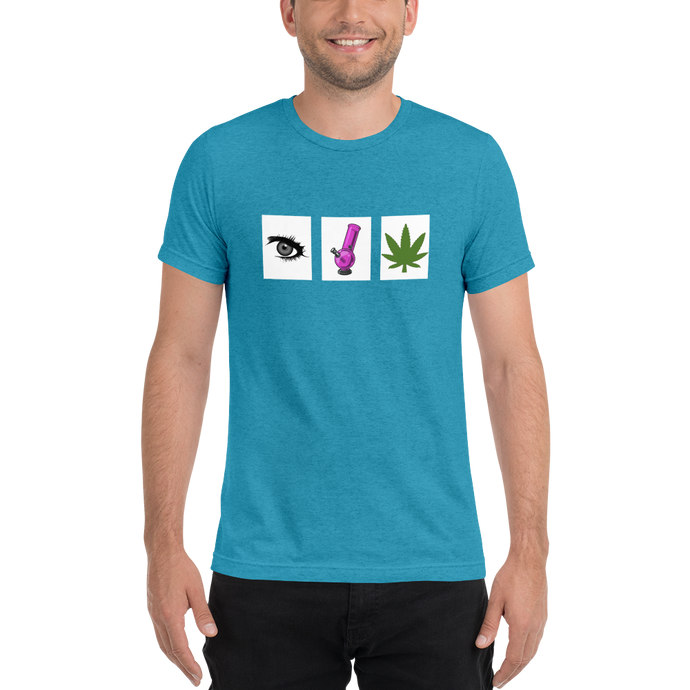 Eye Bong Weed - Official Super Doobie Short Sleeve T-shirt