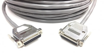 75ft DB25 Female to DB25 Female RS232 Cable