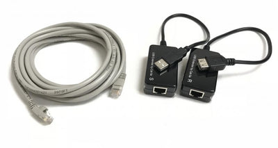 50ft USB 1.1 A/A Extension Kit Over CAT5e Cable
