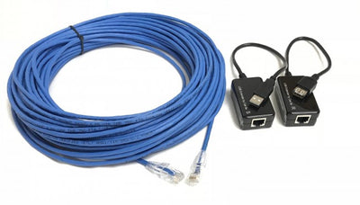 75ft USB 1.1 A/A Extension Kit Over Plenum Cat5e Cable