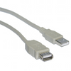 USB 2.0 Type A Male to Type A Female Extension Cable