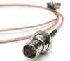 BNC Female Bulkhead to BNC Female Bulkhead RG179 Cable 75 Ohm