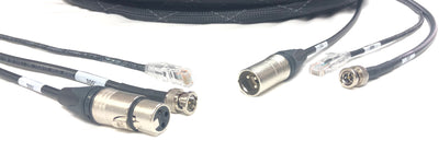Snake Cable HD-SDI BNC, XLR, CAT5E all in one Jacket
