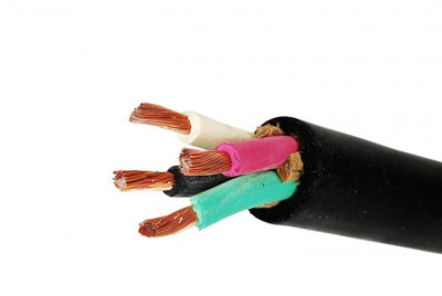 16/4 SOOW, 16 AWG 4 Conductor Cable 600 Volt - 50 Foot Roll