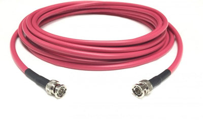 250ft Belden 1694A 3G/6G HD-SDI RG6 BNC Cable Red