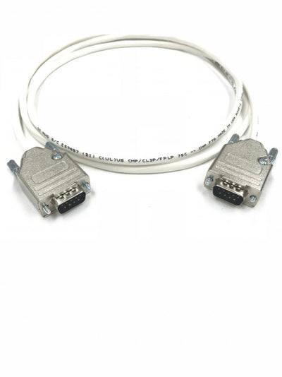 75ft DB9 Male to Male 22 AWG Plenum Jacket Serial Data Cable