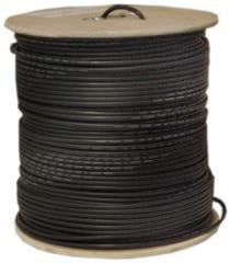 RG58 Solid Cable 50 Ohm Coax PVC Jacket 1000ft Spool