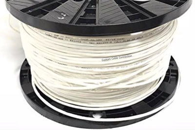 22 AWG 2 Conductor Stranded Shielded Plenum Cable (100ft, 500ft, 1000ft)