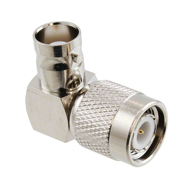 TNC Male Right Angle to BNC Female 50 Ohm Adapter