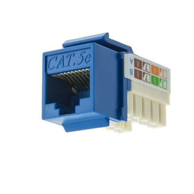 CAT5E Data Grade Punch Down Keystone Jacks 8x8