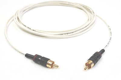 Single RCA Audio Cable Male to Male Installation Grade Plenum Jacket