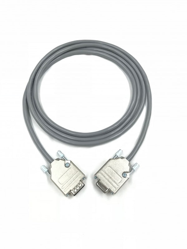 Serial Cable DB9 Male to Female 24 AWG All 9 Pins Wired