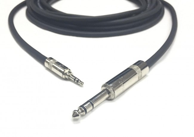 3.5mm Stereo to 1/4 Inch TRS Stereo Cable - 75 Foot