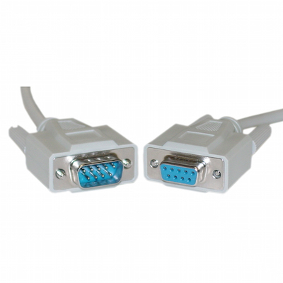6 foot DB9 Male to Female Extension Serial Cable
