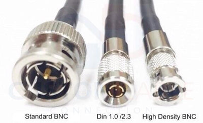 12G Rated BNC Male to High Density Micro BNC HD-SDI 3G/6G/12G Video Adapter Cable