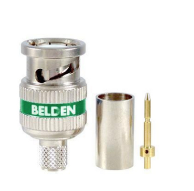 Belden 4694RBUHD3 12 GHz 3 Piece BNC for RG6 - 50 Pack