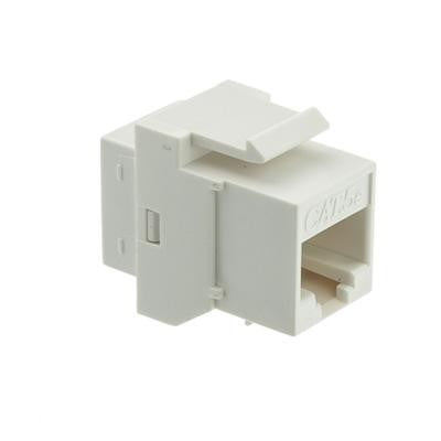 Cat5e Coupler Keystone Jack/Jack White