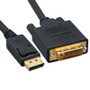 DisplayPort to DVI Video Cable Male to Male 6ft