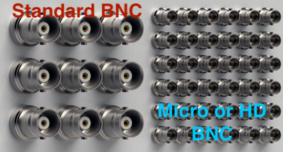 BNC Male to High Density Micro BNC HD-SDI 3G/6G Video Adapter Cable