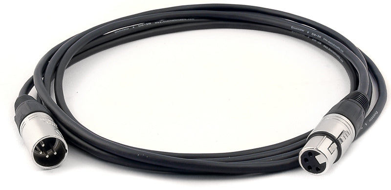 150ft 4-Pin XLR  Data Cable Male to Female