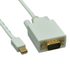 Mini DisplayPort to VGA Video Cable Male to Male 6ft