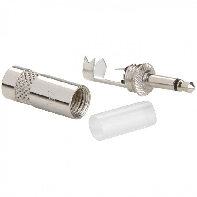 Neutrik Rean NYS226 3.5mm Mono Plug Nickel