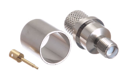 SMA Female Reverse Polarity for LMR-400 Crimp Connector