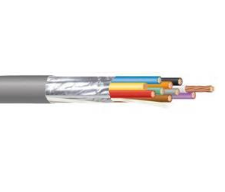22 AWG 6 Conductor Stranded Shielded PVC Cable (500ft or 1000ft)
