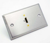 Stainless Steel Wall Plate with One HDMI Female Connector Philmore 75-677