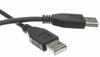 10ft USB 2.0 A/A Cable Black