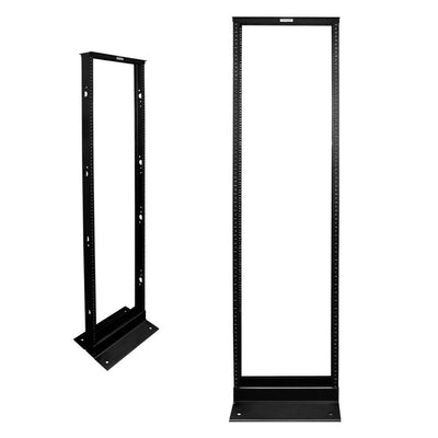 45U 2-Post Open Frame Network Rack 7ft - Wavenet 2POST-45U-N