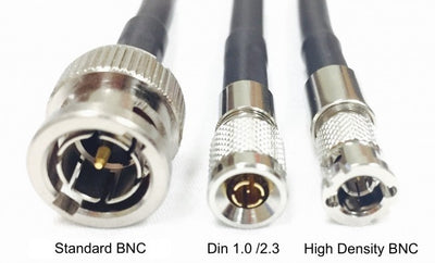 High Density BNC Male to BNC Female HD-SDI with Belden 1694A Cable - 6 Foot