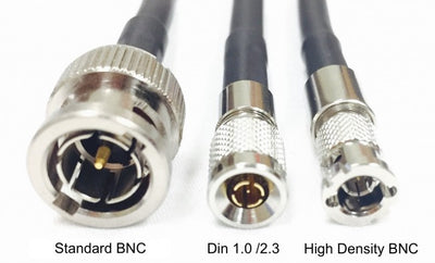 12G Rated BNC Male to High Density Micro BNC Right Angle HD-SDI 3G/6G/12G Video Adapter Cable