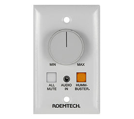 Volume Control Wall Plate Roemtech WP-350H