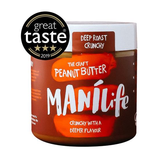 Manilife Peanut Butter - Great Taste Awards 3 Stars, 295g - zestyleaf