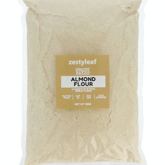 Zestyleaf Almond Flour Value Pack (450g) - zestyleaf