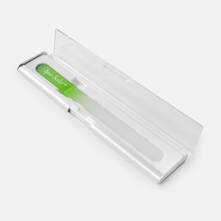 GLASS NAIL FILE IN STORAGE CASE
