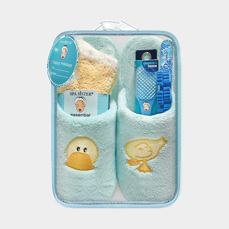 Ducky Slipper Set