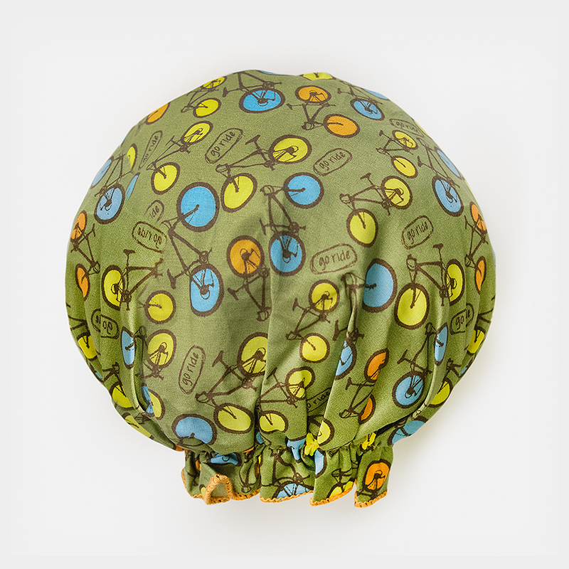 Bouffant Shower Cap - Bicycles